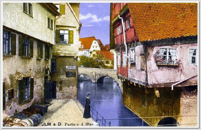 Ansichtskarten von Ulm um 1900